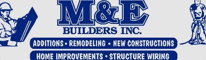 M & E Builders-logo
