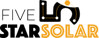 5 Star Solar (UT) Logo
