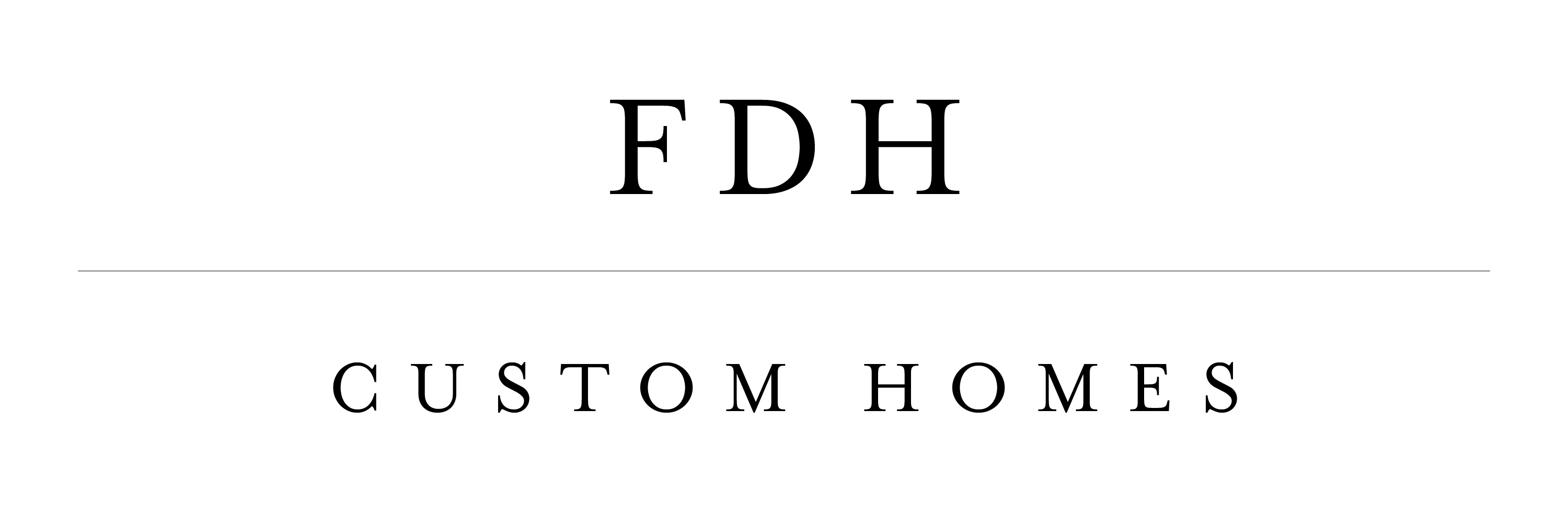 FDH Custom Homes-logo