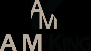 A M King -logo