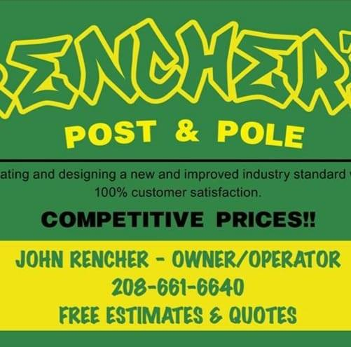 Rencher's Post and Pole Logo