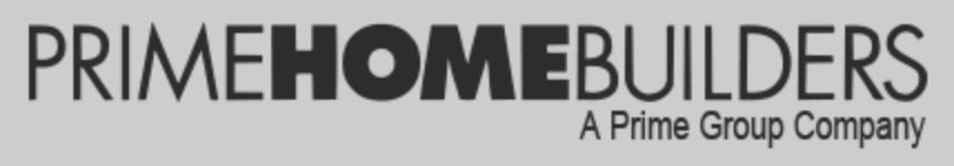 Prime Homebuilders Logo