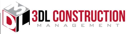 3DL Construction Management-logo