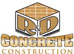 R & D Concrete Construction-logo