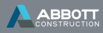 Abbott Construction Logo