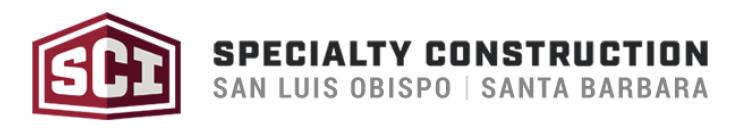 Specialty Construction Inc Logo