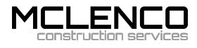 McLenco Construction Services Logo