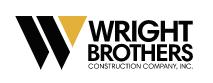 Wright Brothers Construction (TN) Logo