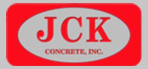 JCK Concrete Inc. Logo