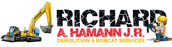 Richard A. Hamann Jr. Demolition & Bobcat Services Logo