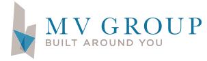 MV Construction & Development Group dba MV Group USA Logo