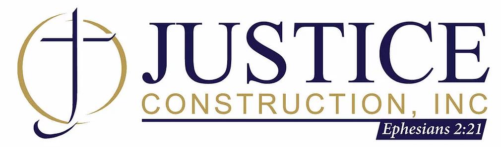 Justice Construction Inc. Logo
