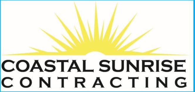 Coastal Sunrise Contracting Logo