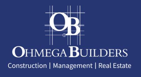 Ohmega Builders Logo