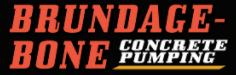 Brundage Bone Concrete Pumping Logo