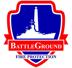 BattleGround Fire Protection Logo