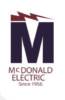 C.F. McDonald Electric Inc. Logo