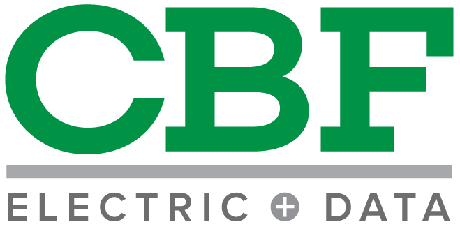 CBF Electric & Data Logo