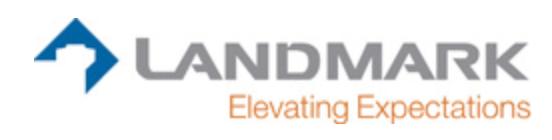 Landmark Structures Logo