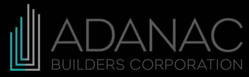 Adanac Builders Corporation Logo