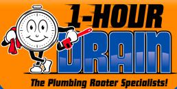 1-Hour Drain Logo