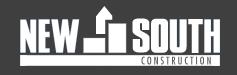 New South Construction Company Logo